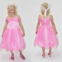 Sparkle Princess Dress - Light Pink