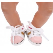 "18"" Doll Shoes - Canvas Sneakers"