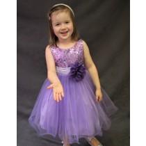 Carly Dress - Lilac