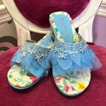 Princess Heels - Blue - (Style - CH501)