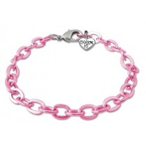 Charm It Bracelets - Pink Chain