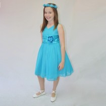 Chelsea Dress - Turquoise