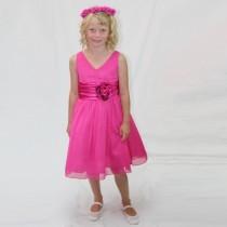 Chelsea Dress - Fuchsia - Size 1/2