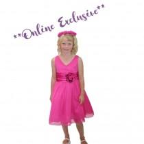 Chelsea Dress - Fuchsia - Size 1/2 *FINAL STOCK