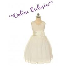 Chelsea Dress - Ivory - Size 11/12 *FINAL STOCK