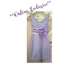 Chelsea Dress - Lilac - Size 11/12 *FINAL STOCK