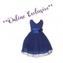 Chelsea Dress - Royal - Size 1/2 *FINAL STOCK