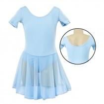 Chloe Leotard Dress - Blue