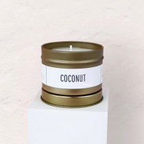 Sea and Clay - Gold Candle: Coconut