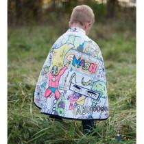 Colour Me Reversible Superhero Cape