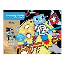 AVENIR - Colouring Velvet Space and Robots