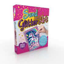 Crafting Fun Sand & Glitter Art