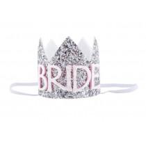 Bride - Soft Crown/Headband (Silver)