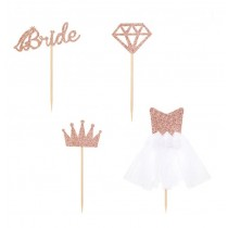 Bridal Cupcake Toppers