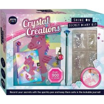 Crystal Creations Shine On Diary Kit