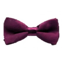 Kids  Bow Tie - Deep Purple