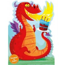 Scratch and Sniff - Dragon Birthday Card
