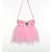 Fairy Girls Bling Bag - Light Pink