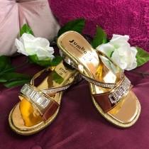 Princess Heels - Gold - (Style - F7195)