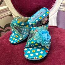 Princess Heels - Blue - Size 30 - (Style - F7200)