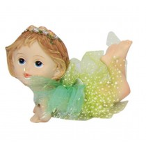 10cm Tahlia Fairy Girl - Green