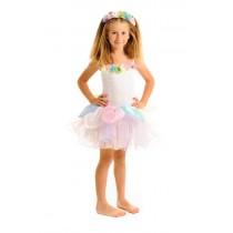 Fairy Girls Gumdrop Fairy Dress - Pastel