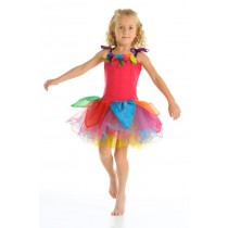 Fairy Girls Gumdrop Fairy Dress - Rainbow
