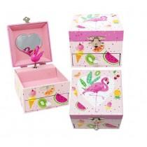 Pink Poppy Fabulous Flamingo Small Jewellery Box