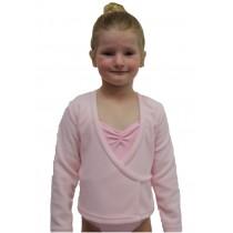 Ballet Crossover Fleece - Pink
