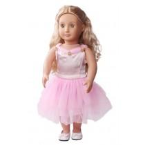 "18"" Fleur Dress - Pink"