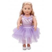 "18"" Fleur Dress - Lilac"