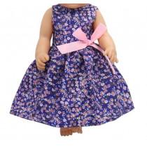 """18"""" Sparkle Dress - Floral"""