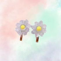 Clip On earrings - Flowers