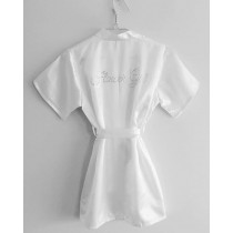 Flower Girl Robes - White