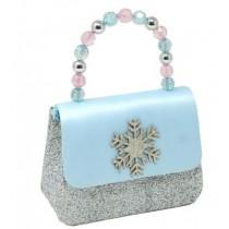 Pink Poppy Snow Princess Sparkle Snowflake Hard Handbag