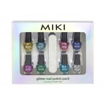Miki Glitter Nail Polish Pack