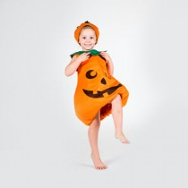 Pumpkin Outfit - Size L (6-8 Years) *ON SALE - Fabric Fault*
