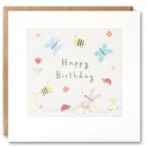 James Ellis - Shakies Card - Happy Birthday Butterflies