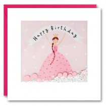 James Ellis - Shakies Card - Birthday Princess