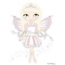 Harmony Fairy - Nicole McNamara Art Prints