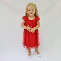 Holly Dress - Red - Size 7