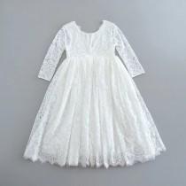 Aaralyn Dress - White