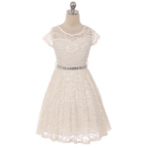 Isabella Dress - Off White
