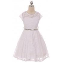 Isabella Dress - White