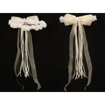 Flower Garland - Ivory