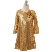 Jazz Dress - Gold