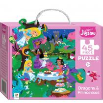 Junior Jigsaw Small: Dragons & Princesses *Due Oct