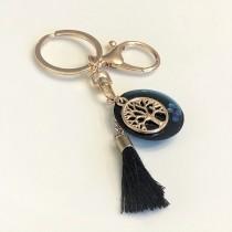 Ara DesigNZ - Deep Blue Keychain