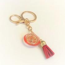 Ara DesigNZ - Red Keychain