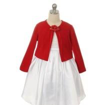 Knit Bolero - Red